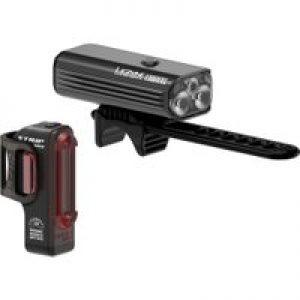 Lezyne Macro Drive 1300XL / Strip Pro Light Pair   Light Sets