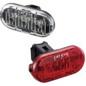 Cateye OMNI 3 Set Battery   Light Sets