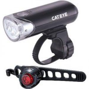 Cateye EL135 & Orb Front & Rear Set   Light Sets