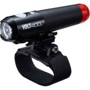 Cateye Volt 400 Duplex Front & Rear Helmet Light   Front Lights