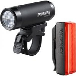 Ravemen LR500 & TR20 USB Rechargeable Light Set   Light Sets