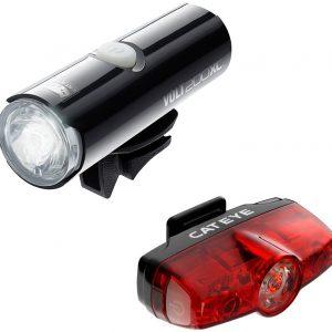 Cateye Volt 200 Xc Rapid Mini Bike Light Set