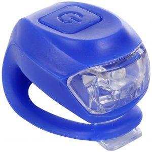 Halfords  Silicon Bike Light - Blue