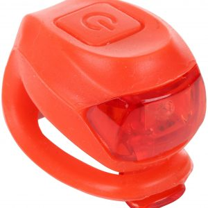 Halfords  Silicon Bike Light - Red