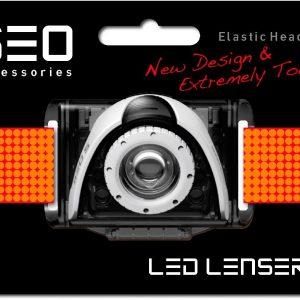 Ledlenser Seo Headband - Red