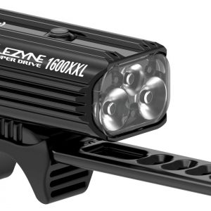 Lezyne - Super Drive 1600Xxl - Blk/Hi Gloss