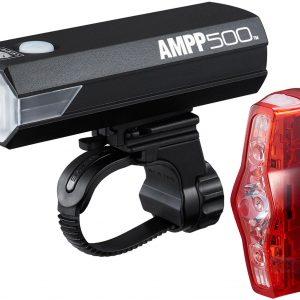 Cateye Ampp 500 / Viz 150 Bike Light Set