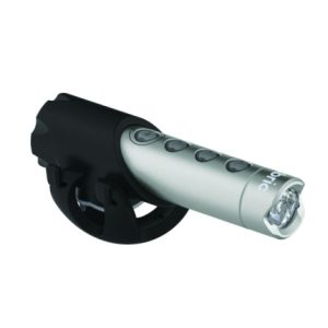 Fabric Lumanate Front Cycle Light - Rechargeable / Gunmetal / Front